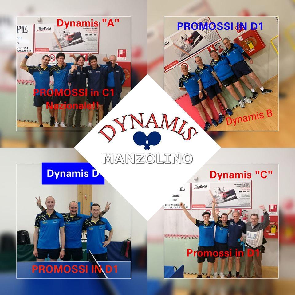4 teams promossi