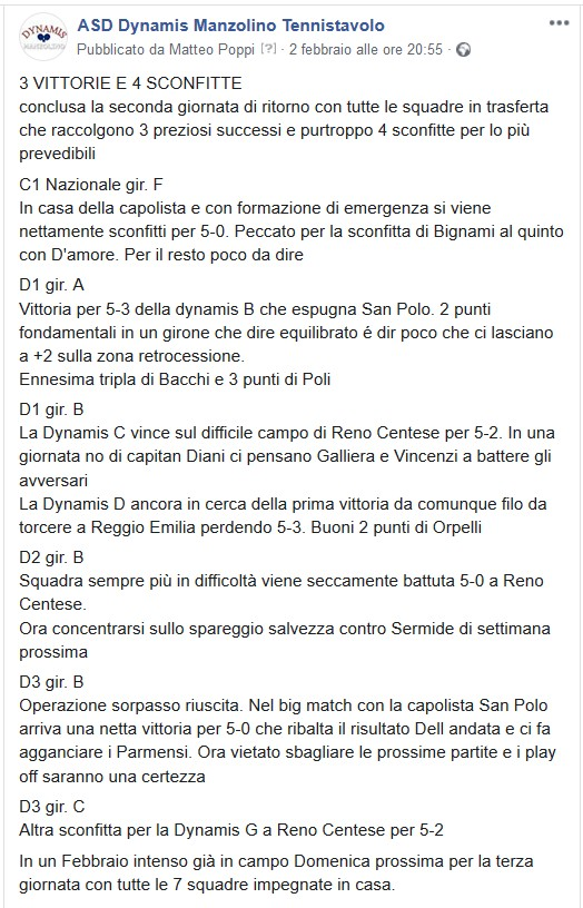 9aG Commento